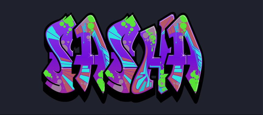 Graffiti Creator Sasha S Learning